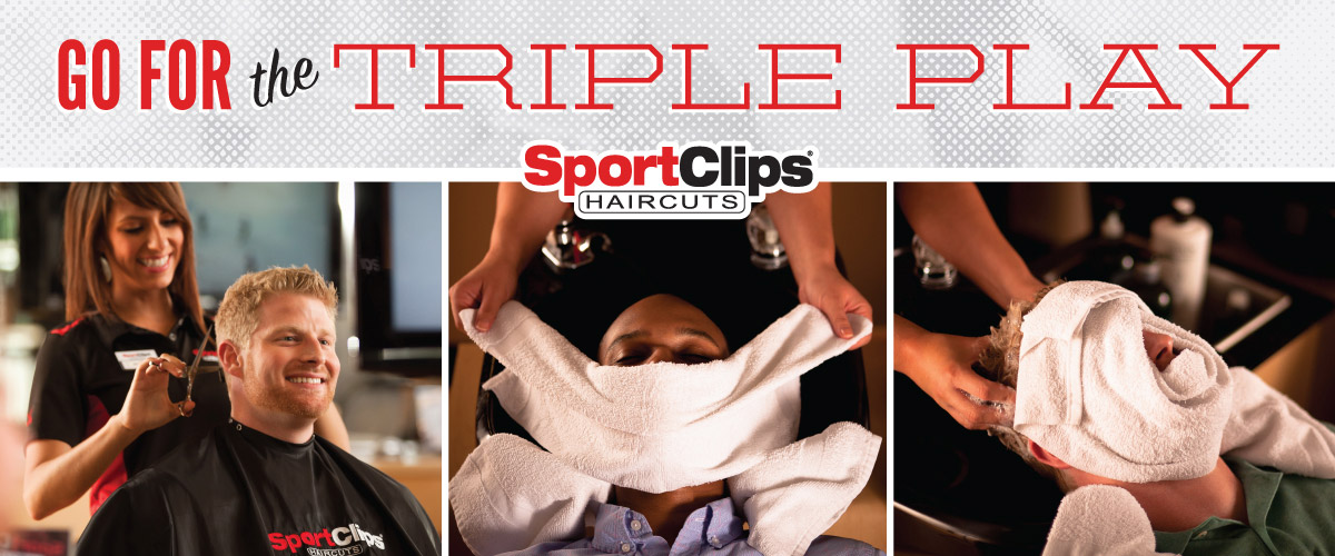 The Sport Clips Haircuts of Winchester - Rutherford Crossing Triple Play